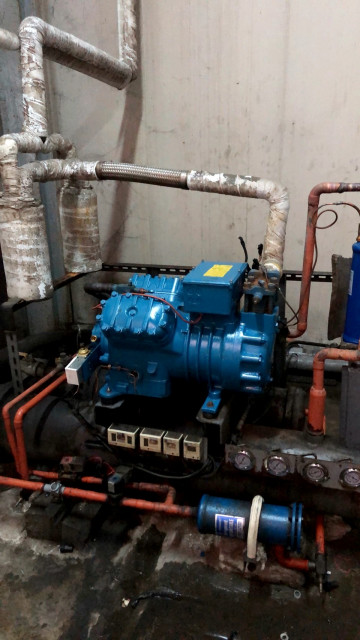 200坪冷凍設備維修
