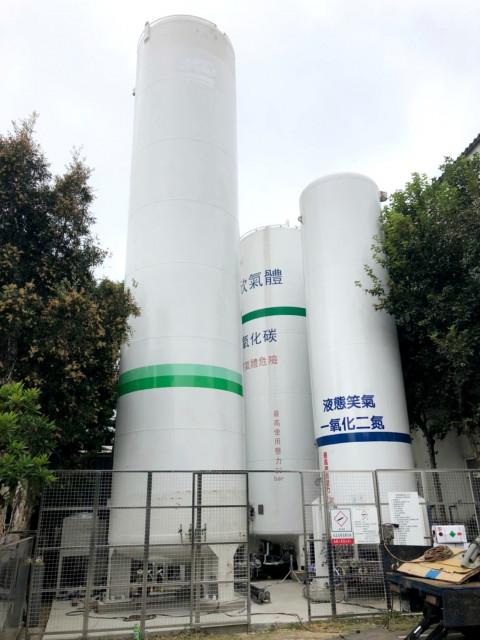 氣體廠冷卻系統
