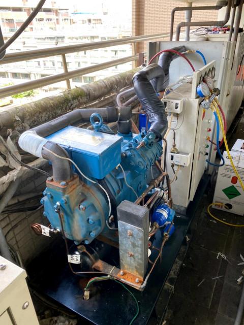 雙段壓縮機整理維修