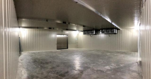 90坪冷凍庫