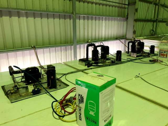 傳統控制冷凍設備