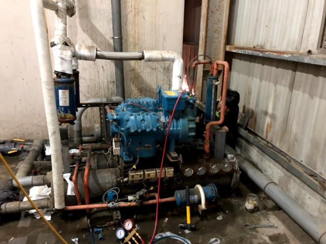 200坪 冷凍設備維修
