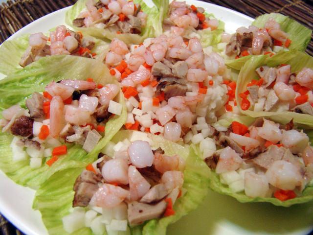 生菜乳豬蝦鬆