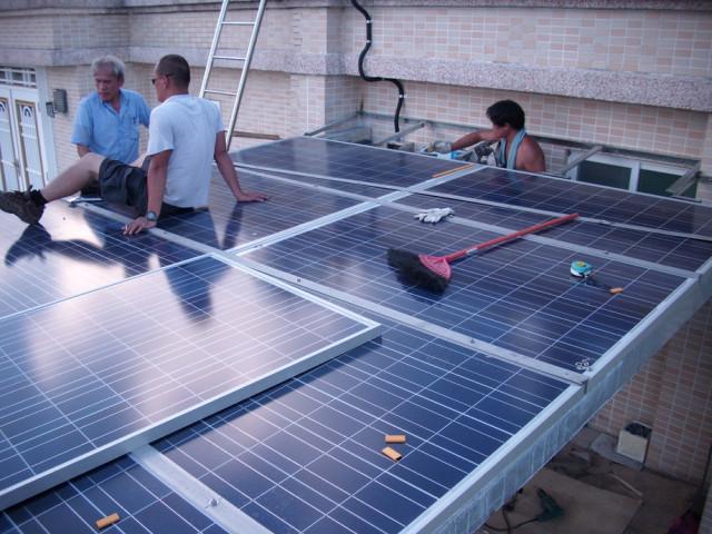 太阳能铁架