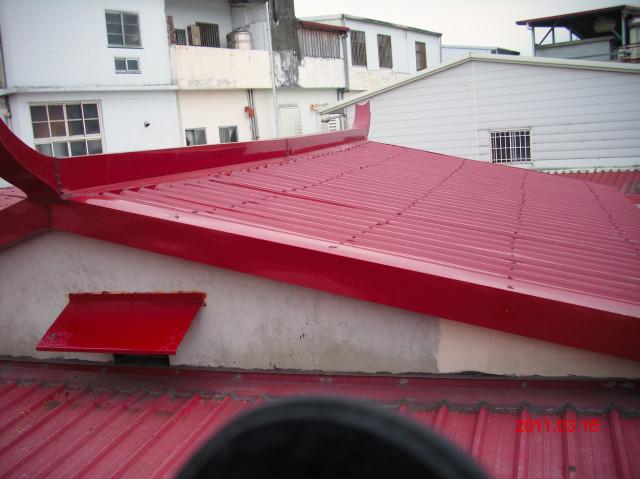 屋顶铁皮工程